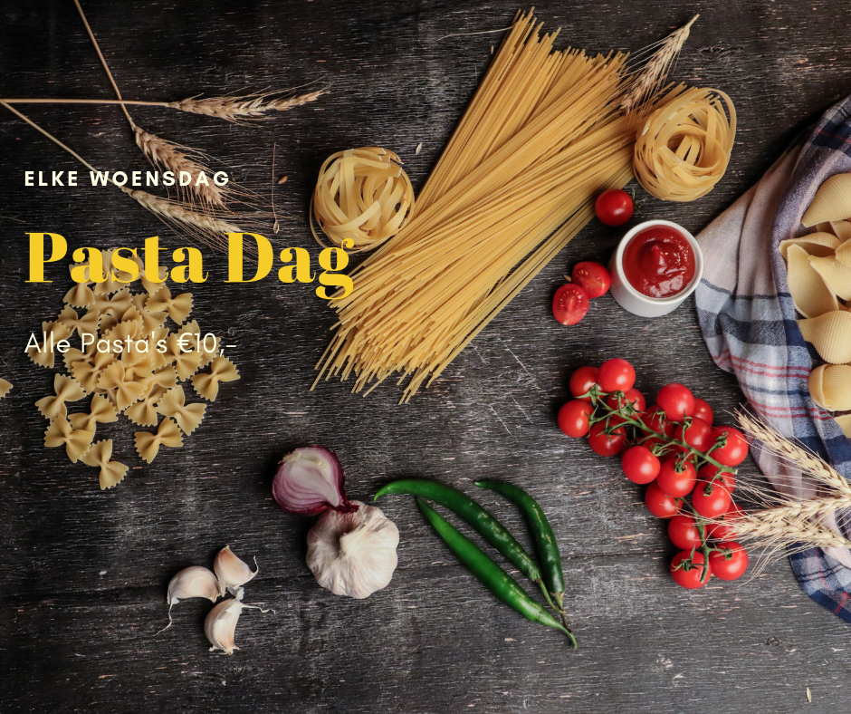 woensdag pasta dag